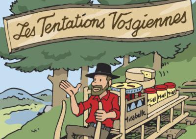 Les Tentations Vosgiennes à Tilff