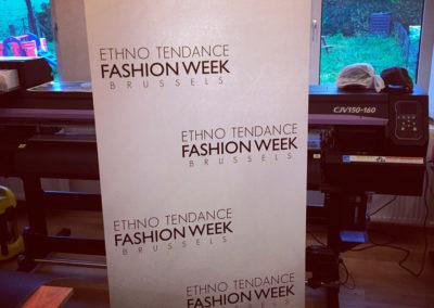 Rollup pour la fashion week