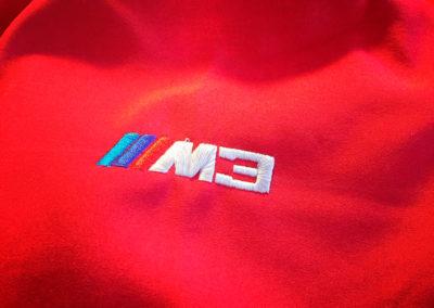 Broderie BMW M3