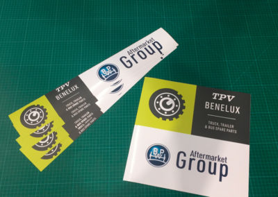 Stickers BPW Benelux