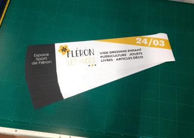 Stickers pour Fléron les puces