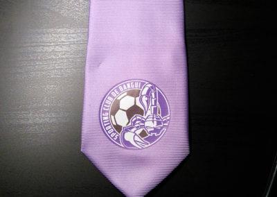 Impression sur cravate