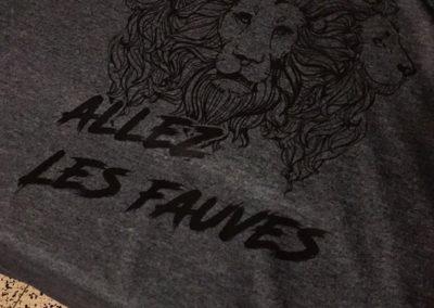 Impression sur t-shirts
