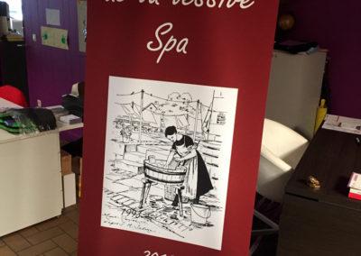 Rollup pour le musée de la lessive de Spa