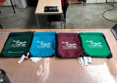 Impressions sur sacs pour la maison d'enfants Les Ptit's Gribouilles