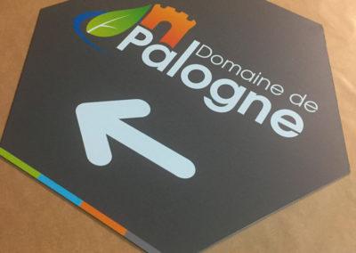 Impression de panneaux pour le Domaine de Palogne