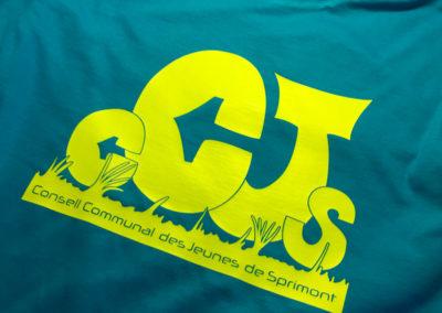 Impression de t-shirt pour la jeunesse de Sprimont