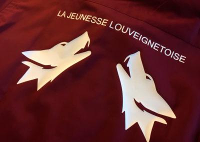 Impression sur textiles pour la jeunesse Louveignétoise