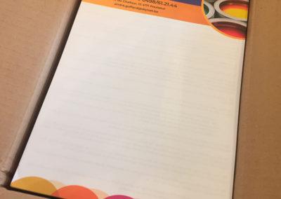 Impression de papier à entête pour la société Goffard