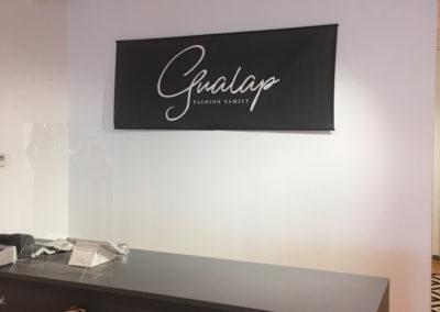 Toile suspendue pour Gualap à Lontzen