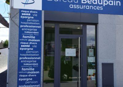 Impression et placement de panneaux au Bureau Beaupain à Beaufays