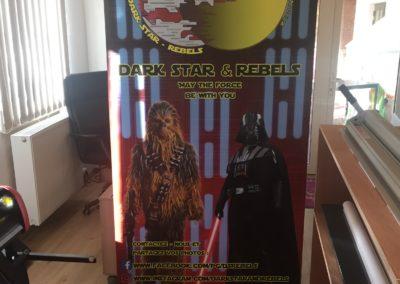 Rollup pour un groupe Star Wars